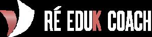 Logo Ré Eduk Coach blanc